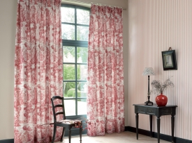 thumbs CHT ambiance rayure rouge Nouvelle collection : Toile de Jouy