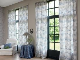 thumbs CTS ambiance rideau bleu bleu Nouvelle collection : Toile de Jouy