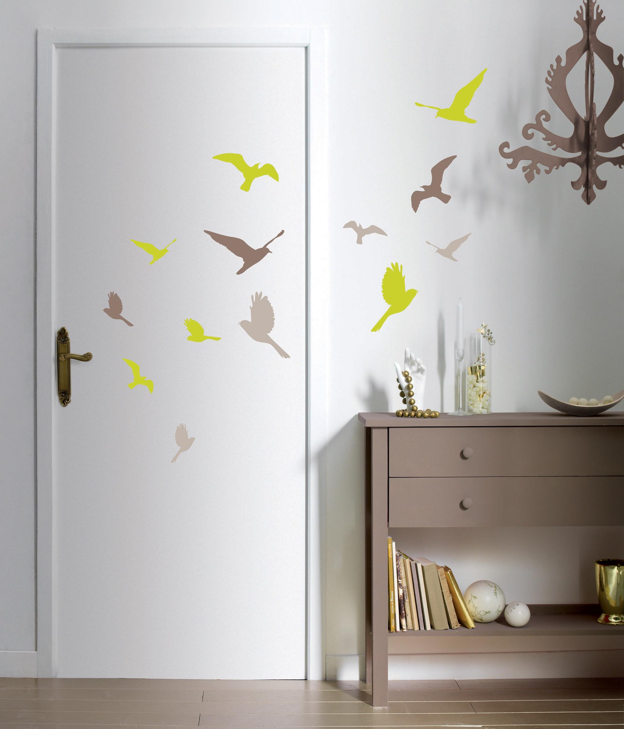 D coration murale stickers d coration murale le blog for Decoration murale papier