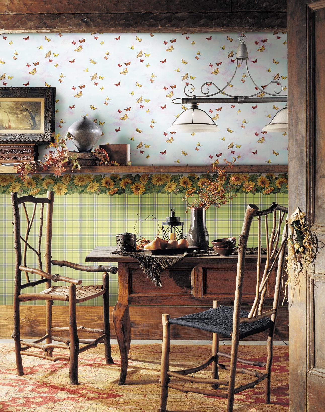 Nouvelle collection : papiers peints et frises pour cuisines et ...