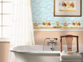 thumbs papier peint salledebains KB2A Nouvelle collection : Papier peint pour cuisine et salle de bains