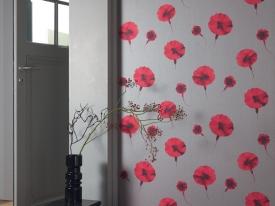 thumbs DVN ambiance oeillet rouge Nouvelle collection : Papiers peints Divine