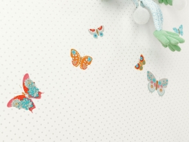 thumbs GLN PAPILLONS ZOOM2 Nouvelle collection : Papiers peints Girly