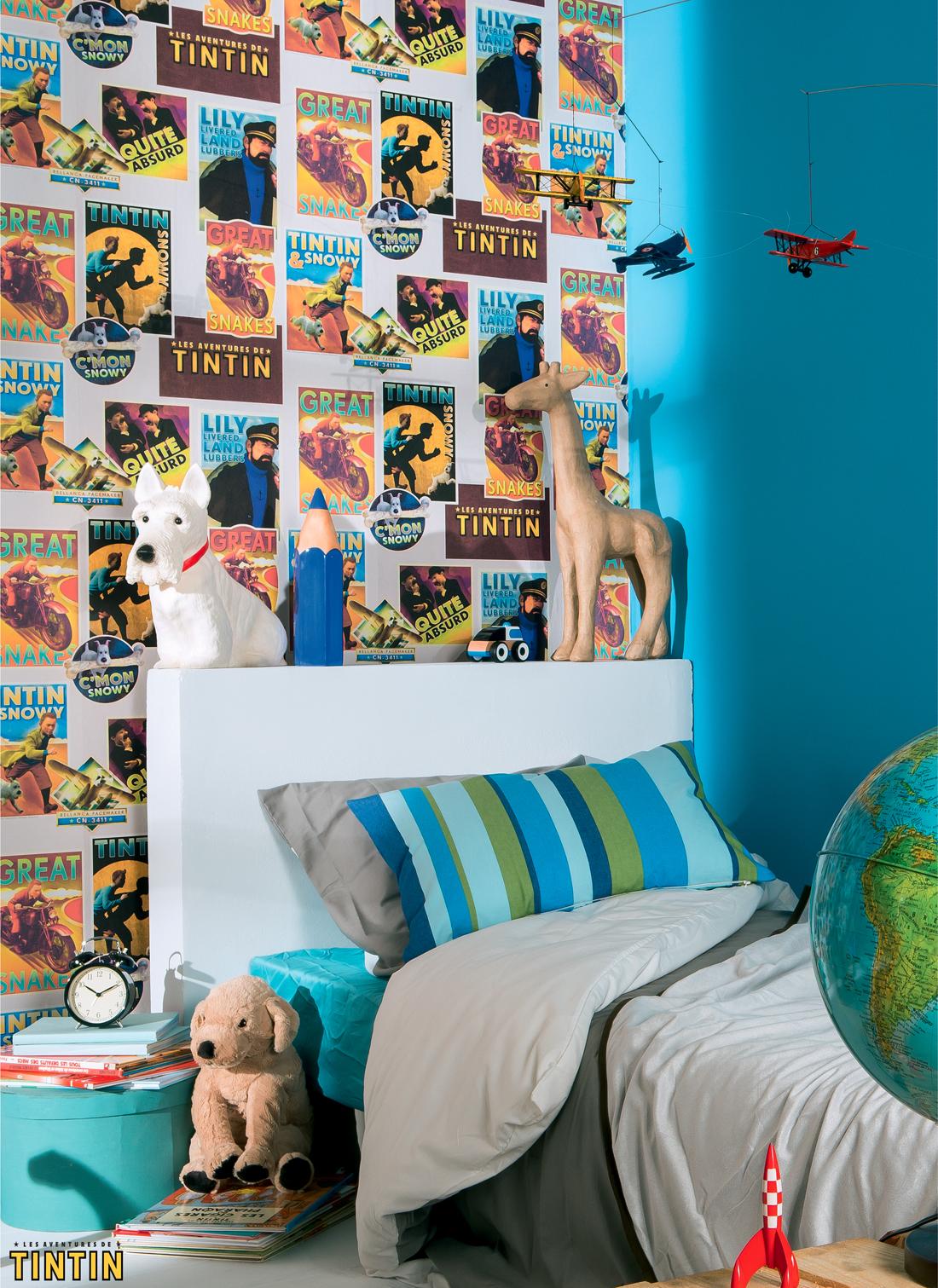 Papier Peint Tintin Et Milou decoration tintin et milou – oveetech