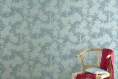 thumbs Camellia Teal Décoration murale Vintage