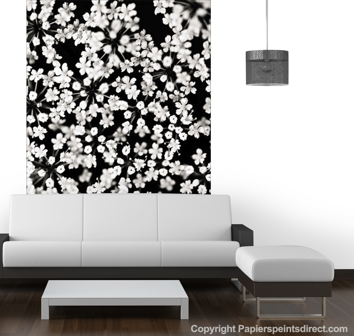 d coration murale murs d 39 image d coration murale le blog papiers. Black Bedroom Furniture Sets. Home Design Ideas