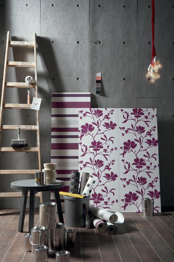 D coration murale design p 1d coration murale le blog for Schoner wohnen lila