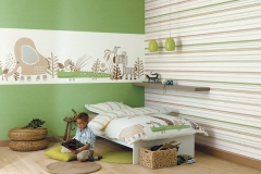 thumbs JUNGLE VERT AMB01 Décoration murale enfants