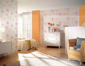 papier peint coloré de la collection Sunny Side