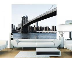 murs image brooklyn NY Envie de voyager ? Evadez vous avec les papiers peints New York