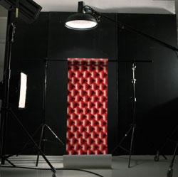 papier peint capitons koziel papierpeintdirect.com  Regard sur la déco : Rencontre avec Carine, de Silence ! On décore