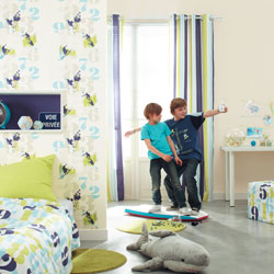 papier peint enfants Les stickers et papiers peints qui vont égayer la chambre de votre enfant