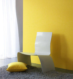 Papier peint jaune