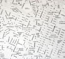 papier peint map new york Envie de voyager ? Evadez vous avec les papiers peints New York