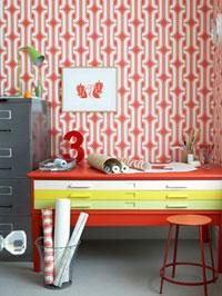 Creer Un Esprit Vintage Grace Au Papier Peint Interieur Et Decoration
