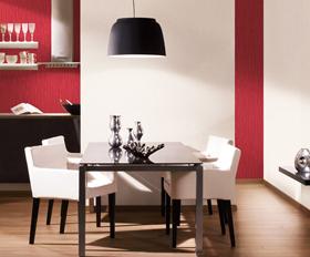red fever osez le rouge dans votre d coration murale. Black Bedroom Furniture Sets. Home Design Ideas