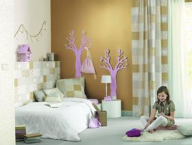 Décoration murale Sweet dreams enfant or