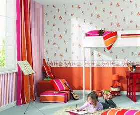 Id e papier peint chambre b b fille - Papier peint chambre bebe fille ...