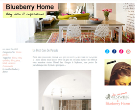 Blueberry Home blog