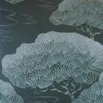 Papier peint collection Oriental Papers de The Little Greene, référence : 0275PISILVE