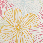 papier peint fleuri multicolore Nature, charme et soleil : la décoration murale fleurie