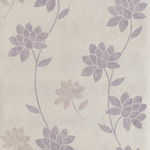 papier peint fleuri violet Nature, charme et soleil : la décoration murale fleurie