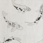 papier peint poissons Dessine moi un papier peint