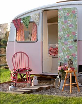 papier peint reverie jardin little greene Regard sur la déco : Rencontre avec Nathalie de Regards et Maisons
