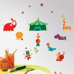 Sticker mural Circus Casélio - CSX 5573 01 22