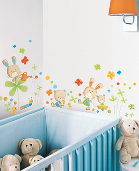 Zag bijoux decoration murale chambre bebe for Decoration murale chambre bebe