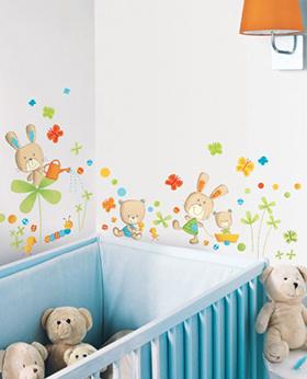 Sticker mural pour bébé