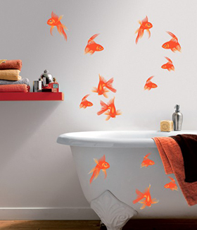 Beautiful Stickers Salle De Bain Zen Pictures Amazing House - Deco mur salle de bain