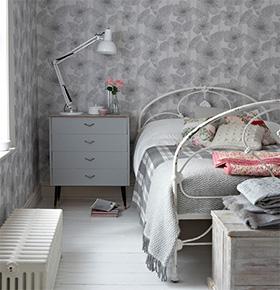D coration murale de la chambre papier peint r tro ou for Chambre retro design