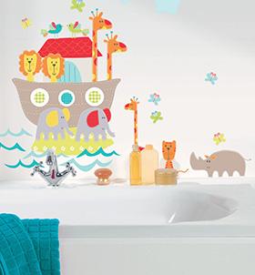 la rentr e de la d coration murale pour les enfants d coration murale le blog. Black Bedroom Furniture Sets. Home Design Ideas