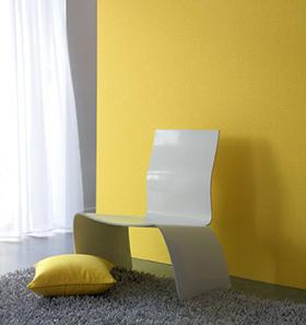 Décoration murale jaune