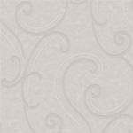 Ornemental cuir blanc cassé gris - papier peint New Skin