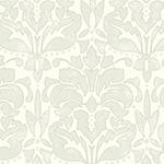 D coration murale les effets de mati res - Papier peint gris baroque ...