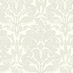Baroque cuir gris - papier peint New Skin
