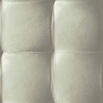 Capiton cuir grège - papier peint New Skin