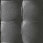 Capiton cuir noir - papier peint New Skin