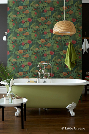 Reverie Jungle - Papier peint Little Greene