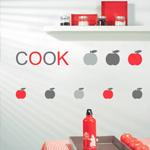 Sticker mural COOK - STU 5720 1032