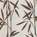 papier peint bambou Feuillages et petites branches envahissent votre décoration murale