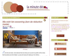minutedeco2 Rencontre avec Isabelle de la minute deco