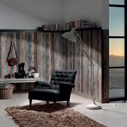 la collection wood nstone vous propose des papiers peints imitation bois