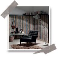 Les papiers peints imitation bois sont l'atout parfait de votre décoration murale