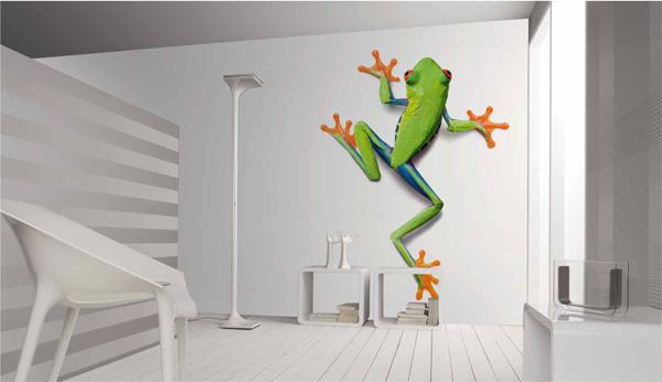le papier peint photo un seul mur fait la diff rence. Black Bedroom Furniture Sets. Home Design Ideas