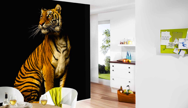 Papier peint Tigre