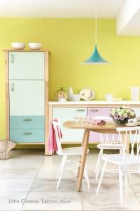 Little Greene Kitchen Lemon Mivvi 199x300 Tendance déco : on met du printemps chez soi !