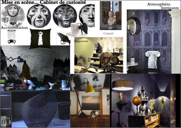 Planche : Cabinet de curiosités par l'agence BFB